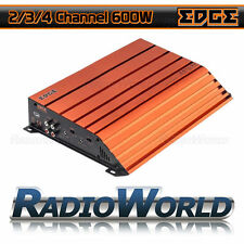 Edge ED7600 4/3/2 Channel Car Amp Amplifier 600w Full Range Class AB