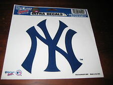 NY YANKEES Baseball STICKER; Removable; NEW; & Reusable; 5 1/2""
