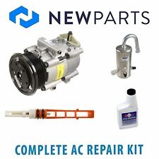 Lincoln Town Car 91-92 Complete AC A/C Repair Kit With NEW Compressor & Clutch