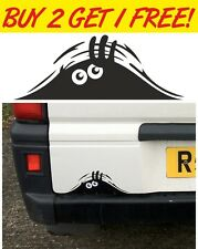 Peeking Monster for Cars, Walls Windows Funny Sticker Graphic Vinyl Car Decal