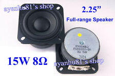 "2.25"" inch 8Ohm 8Ω 15W Full Range Audio Speaker Loudspeaker for SONY Bluetooth"