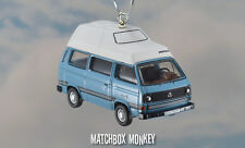 1:72 Volkswagen T25 Bus Camper Westy VW Type 2 Christmas Ornament Westfalia RV