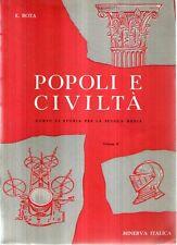 N13 Popoli e civiltà Vol. II Corso di storia Rota Minerva Italica 1956