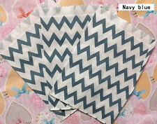 25 Favor Food Oil Paper Party Bags Chevron Striped Craft Bag For Party color 8