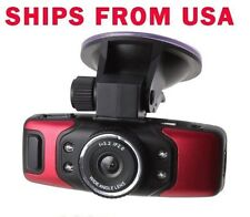 GS5000 FULL HD Car Camera DVR 1080P GPS G-Sensor Night Vision Red