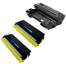 2x TN460 Toner + 1x DR400 Drum Unit For Brother MFC-8700 9600 9650 9700 9750