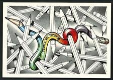 Paolo Tagliente : La scuola del fumetto - cartolina