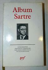 Biografia Fotografia - Album: Jean Paul Sartre 1991 La Pleiade 1a prima edizione