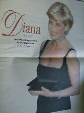 Extremely Rare Nova Scotia, Canada Newspapers Princess Diana Memorials