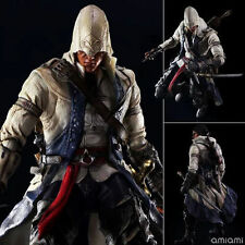 """10"""" ASSASSIN'S CREED 3 - CONNOR KENWAY PLAY ARTS KAI VARIANT TOYS ACTION FIGURE"""