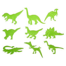 9Pcs/Pack Glow in the Dark Night Dinosaur Stickers Kids Room Home Wall Art Decor