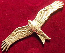 Quality Pewter Falcon Red Kite Falconry Brooch Pin for Shooting Jacket