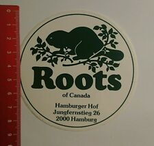 Aufkleber/Sticker: Roots of Canada Hamburger Hof (16081691)