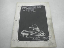 Arctic Cat 1977 Lynx Snowmobile Illustrated Parts Manual