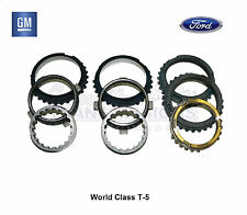 T-5 5 Speed Transmission Synchro Kit World Class NEW GM Chevy Ford Fiber Lined