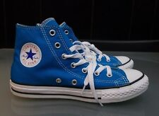 NEW IN BOX BOYS BLUE HIGH TOP CONVERSE SNEAKERS SIZE 3