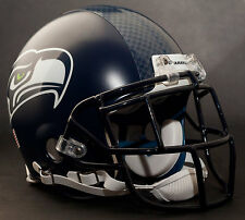MARSHAWN LYNCH Edition SEATTLE SEAHAWKS Riddell AUTHENTIC Football Helmet