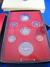 1973 CANADA VIP SPECIMEN SET - LEATHER CASE    (dpcss3)