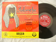 IOLANTHE GILBERT AND SULLIVAN LP ISIDORE GODFREY decca lk 4044..... 33rpm