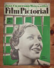 FILM PICTORIAL Vol III No 72 8TH JULY 1933 CAROL GOODNER FRONT COVER