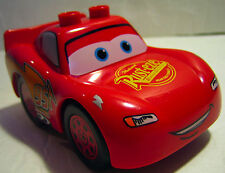 Lego Duplo LIGHTNING MCQUEEN Disney's Cars Movie Toy Red Stock Car Character
