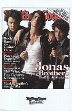 JONAS BROTHERS POSTER ~ GOD GIRLS GUITARS 22x34 Music Nick Kevin Joe RS