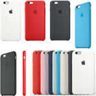 Genuine Silicone Back Case Cover For Apple iPhone 6 6S / 6S Plus New