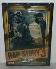 DVD RAP STORY 3 - JAY Z - SNOOP DOG - 50 CENT -  SEALED - SIGILLATO