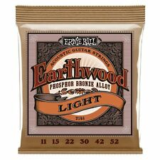 Ernie Ball Earthwood Super Slinky Phos Brnze Guitarra Acústica Cuerdas Light 11-52