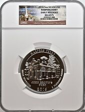 2016 5oz SILVER 25C Harpers Ferry NGC MS 69PL Proof like Early Release must see!
