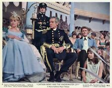 CAPTAIN NEMO AND THE UNDERWATER CITY 1969 VINTAGE LOBBY CARD #1  JULES VERNE
