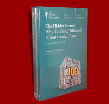 NEW DVDs 24 Lect The Hidden Factor Thinking Differently Great Courses Teaching