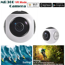 4K HD 24fps 360° Wifi Panoramic Camera Sport Action Camera 8G HD lens For Riding