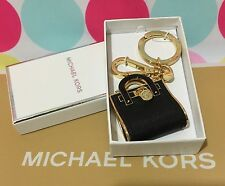 New Authentic Michael Kors Hamilton Key Charms Chain Key Fob  in Black $48