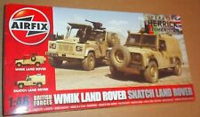 AIRFIX WMIK LAND ROVER AND SNATCH 1:48 SCALE BRITISH ARMY AFGHANISTAN MODEL KIT