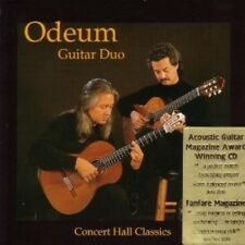 Concert Hall Classics - Odeum Guitar Duo (1999, CD NEUF)