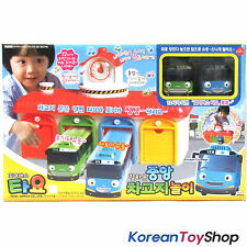 The Little Bus Tayo Main Garage with Tayo and Rogi Bus - Sound, Voice Effect