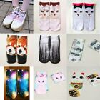 New 1Pair Cute Cotton Fashion Women's Cotton Ankle Low Cut Ankle Casual Socks