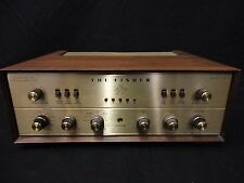 Fisher X-202-B Stereo Vacuum Tube Integrated Amplifier C3