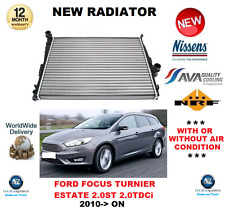 FOR FORD FOCUS TURNIER RADIATOR 2.0 ST TDCi 2010- ON ESTATE AUTOMATIC OE QUALITY
