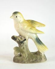 Vintage Porcelain Bird Figurine Gold Finch Hand Painted