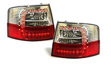 Red clear finish LED tail lights rear lights for Audi A6 Avant wagon 97-04