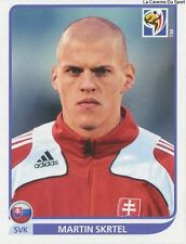 N°470 MARTIN SKRTEL # SLOVAKIA STICKER PANINI WORLD CUP SOUTH AFRICA 2010