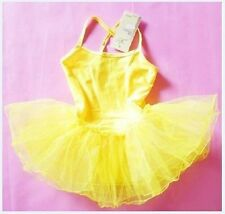 Girls Leotard Tutu Ballet Dress Costume Dress Skate Dance with 3 Layers of Tulle