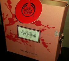 The Body Shop Japanese Cherry Blossom Voyage Collection Lotion,Shower Gel & Mist