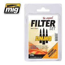 MIG PRODUCTIONS A.MIG7451 - FILTER SET DESERT VEHICLES - NUOVO