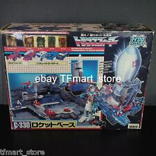 Transformers Japanese C-330 Countdown Micromaster Base G1 Rescue Patrol MIB RARE