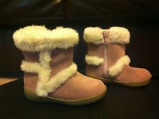 Gap Girls Pink Suede Leather Boots, Shoes, Brand New, Size C7, Never Been Worn!