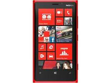 "Nokia Lumia 920 32GB 4G LTE Red 32GB Unlocked Cell Phone 4.5"" 1GB RAM (AT&T)"