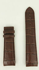 Tissot Couturier T610027774 Watchband Replacement Brown Leather Strap T035617A
